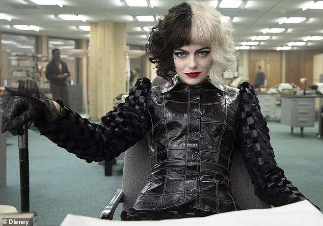 Star turn:Cruella stars Emma Stone in the origin story of the title role and features her pal Artie as the first openly gay character in a live-action Disney film
