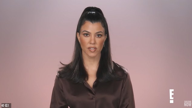 'I'll just kind of brush it off in a nice way': Kourtney admitted that was not the first time such a suggestion was made