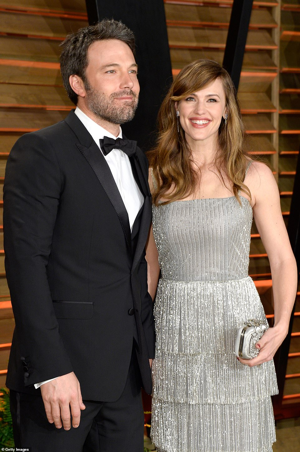 Former flame:As for Ben, the Argo star became romantically linked with actress Jennifer Garner, whom he would go onto wed in 2005; Ben and Jennifer pictured in 2014