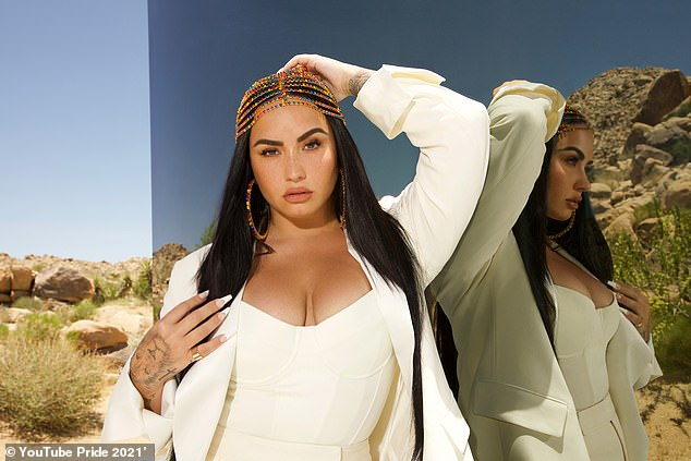 Epic! On Wednesday, YouTube Pride 2021 announced that Demi Lovato, 28, (pictured) and Olly Alexander, 30, are set to host a star-studded virtual party on 25th June