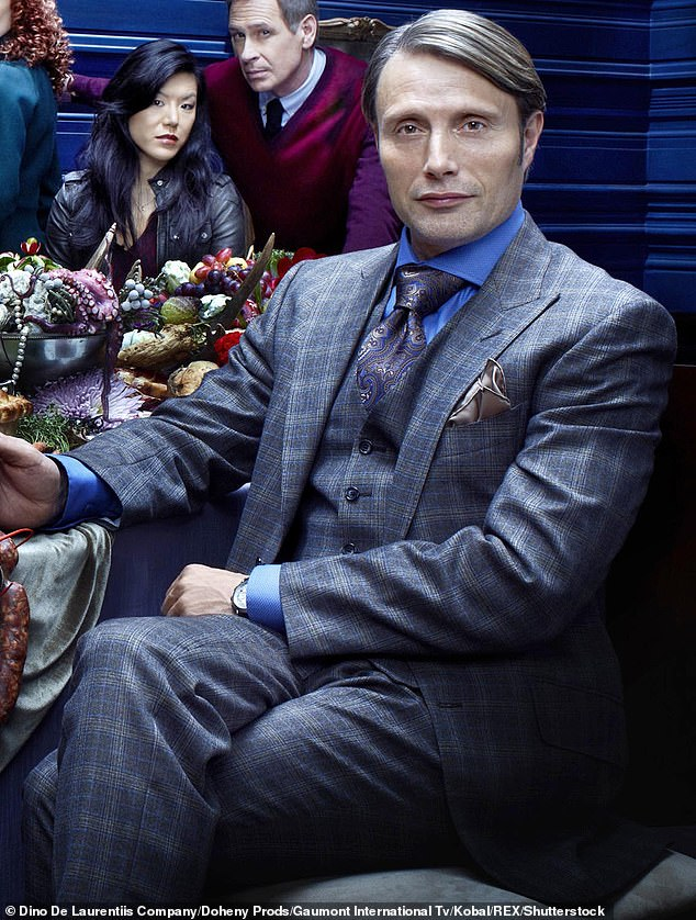 Already a big star: Mads Mikkelsen seen on his TV series Hannibal in 2013