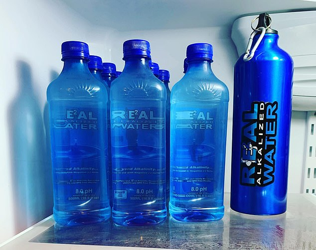 Real Water brands itself as alkaline water that can serve as an alternative to tap water, but and FDA complaint alleges the water was just tap water mixed with a chemical compound