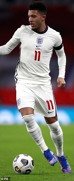 Jadon Sancho has finished the season strongly at Dortmund
