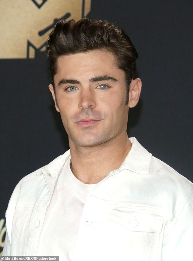 Case of the (high-profile) ex: Vanessa and Hollywood star Zac's split was confirmed in April, following a 10-month romance