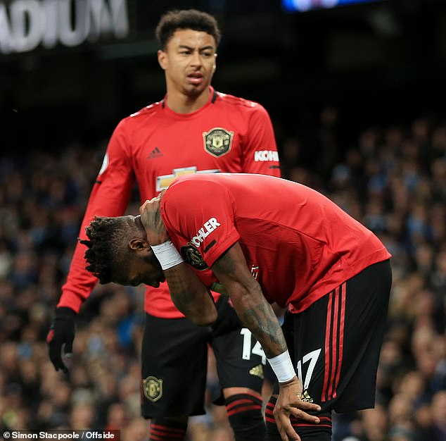 United stars Fred and Jesse Lingard were racially abused during the heated Manchester Derby