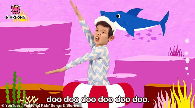 The video was first posted in 2016 and went viral with 8.6 billion views on YouTube. It features two young children singing about a family of sharks