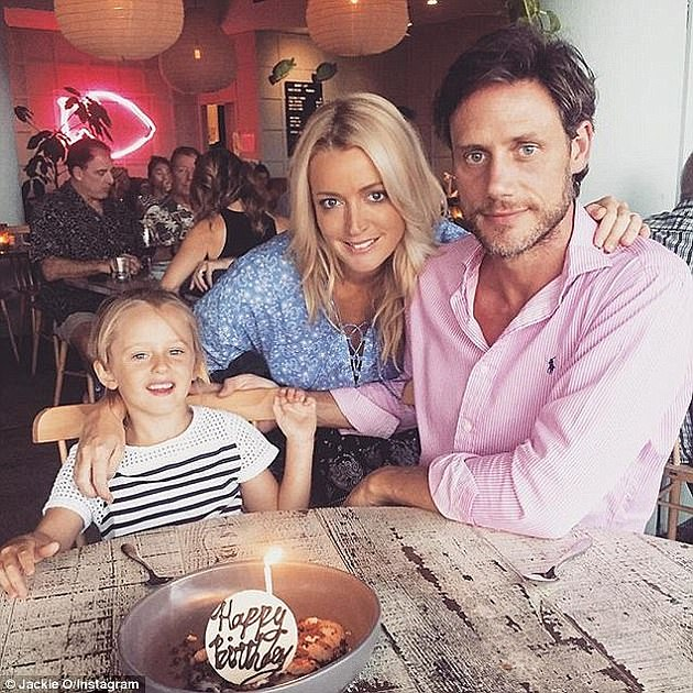 Co-parents:The KIIS FM star split from her ex-husband Lee Henderson in 2018, but they remain on friendly terms for the sake of their daughter Kitty, 10
