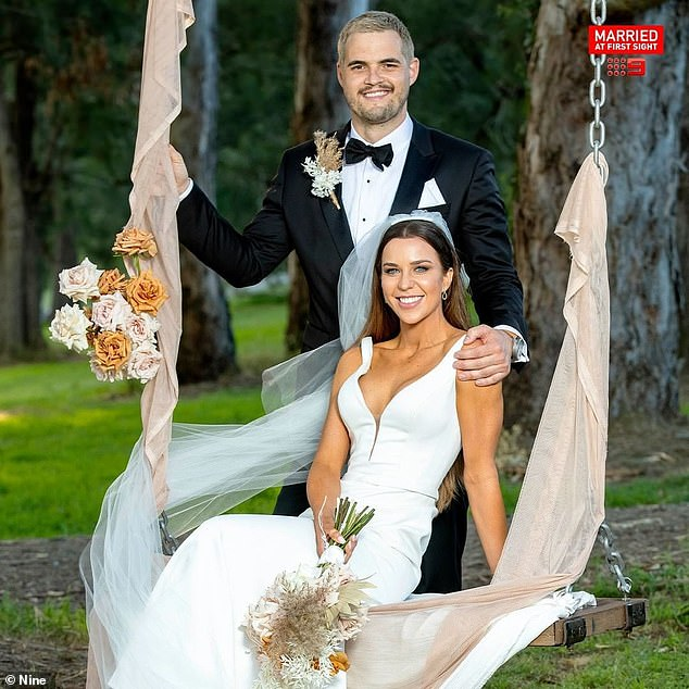 Married: Coco rose to fame as the loud and unabashed bride who married clothing brand owner Sam Carraro on MAFS