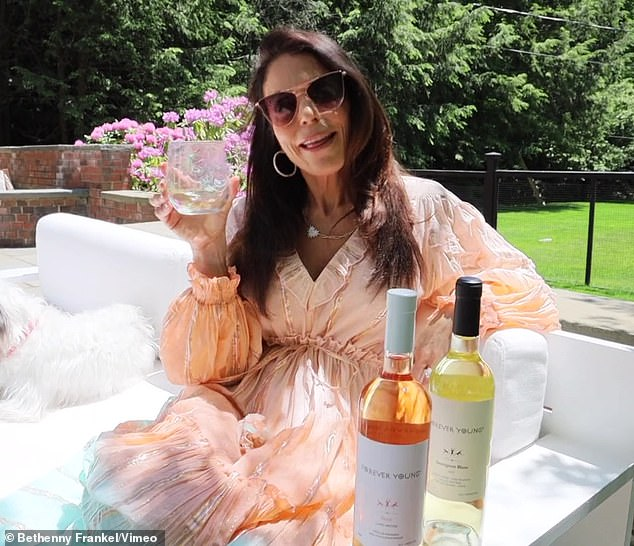 Trailblazer: Frankel noted,'I paved the way for many other media personalities to launch their own cocktail brands and created a new category'