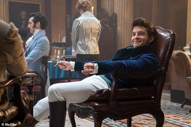 New direction:The second season will shift the focus to Daphne's brother Anthony Bridgerton (Jonathan Bailey), who will go on the hunt for a suitable bride
