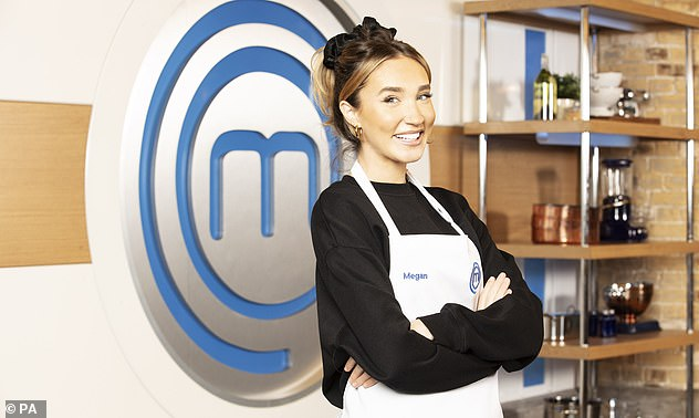 Line-up: The extensive outdoor lunch comes after it was revealed that Megan will join the likes of Katie Price, 43, and Penny Lancaster, 50, on the upcoming series of Celebrity MasterChef