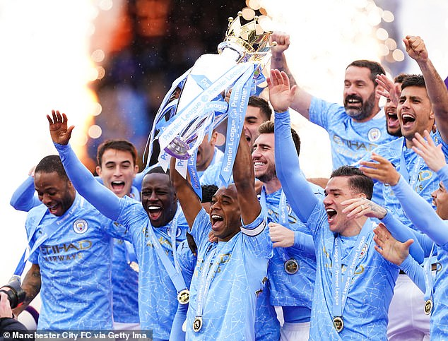 Manchester City booked their place in the August 7 encounter by winning the Premier League