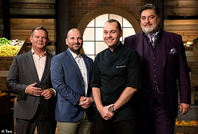 Guest: The chef has made many appearances on the cooking show in the past. Pictured: Shannon with former hostsGary Mehigan, George Calombaris andMatt Preston