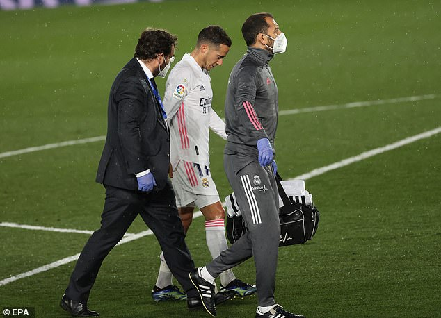 A ruptured cruciate ligament picked up against Barcelona ruled Vazquez out in early April