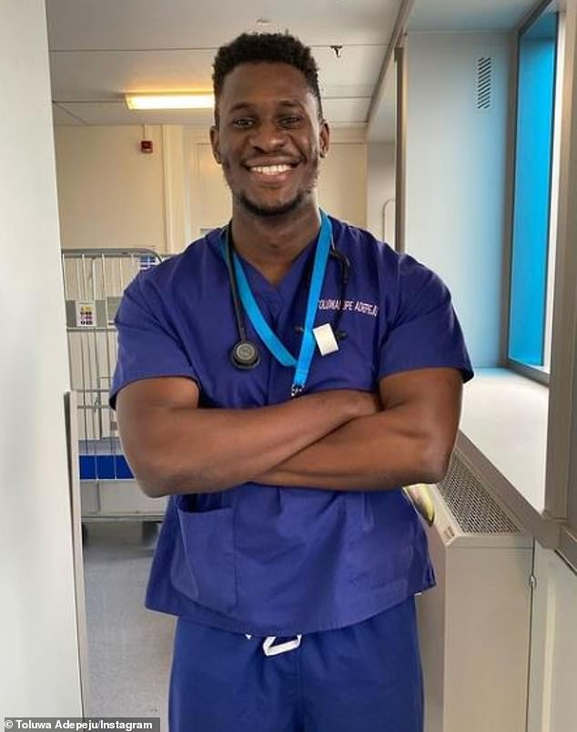 'It's time for someone else to be in that space': NHS doctor Toluwa Adepeju is rumoured to be taking part in the upcoming series, which is set to launch in Majorca on June 28