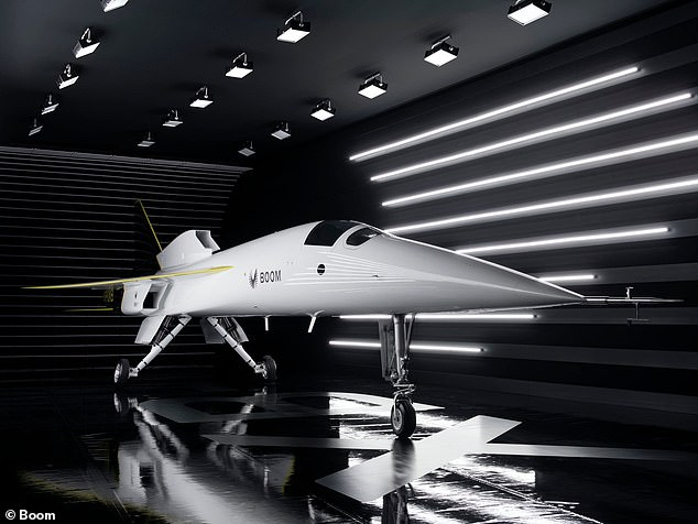Last year, Boom unveiled a full-scale supersonic jet prototype, the first of its kind to take flight in nearly 50 years