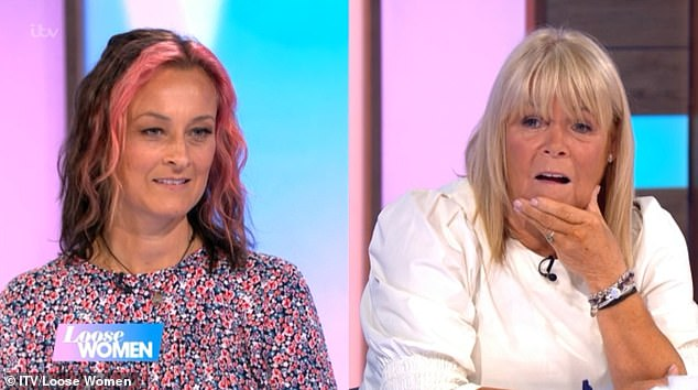 'I really made an impression!': The EastEnders star, 46, had appeared in two episodes of Linda's sitcom Birds Of A Feather but the Loose Women panelist couldn't recall her at all