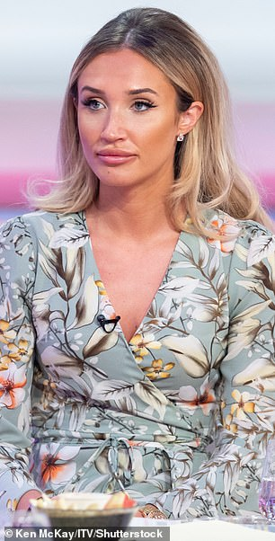 Change: The reality star, 28, previously revealed she dissolved her lip filler because people couldn't look past her 'trout pout' (pictured in 2019)