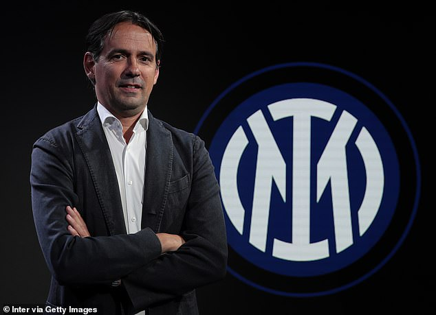 Simone Inzaghi is unveiled as Inter Milan's new manager after leaving Lazio