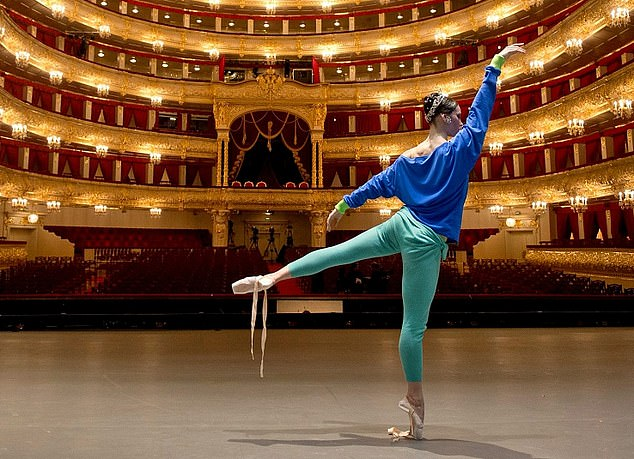 High profile: Russia's richest man Alexey Mordashov backs the Moscow-based Bolshoi theatre (pictured)