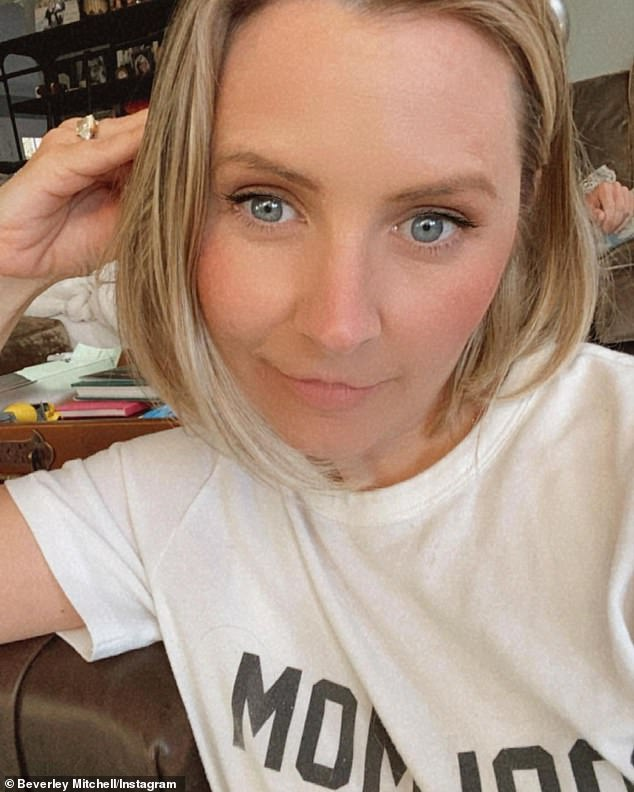 Not everything is as it seems on social media:She compared the untouched snap with other selfies where a filter had been applied, concealing her fine lines
