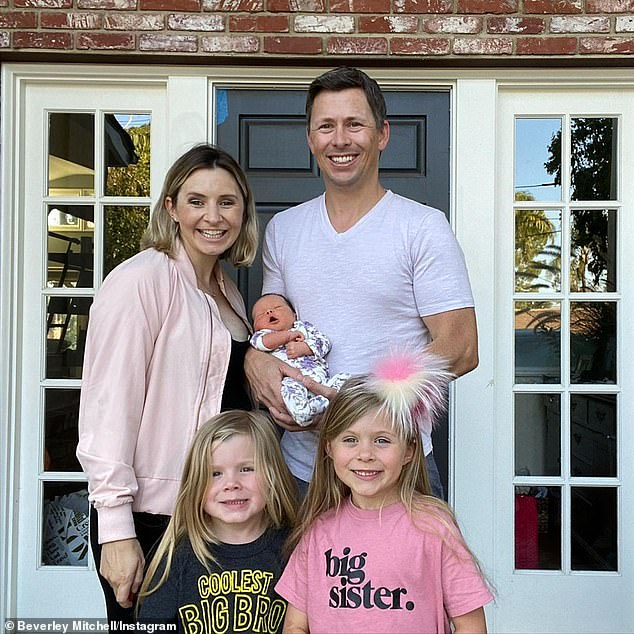 Baby makes five! The star shares three children with her husband, Kenzie, eight, Hutton, six, and the newest addition to the family, Mayzel 'Mayzie' Josephine, who was born in July 2020