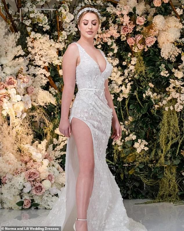 Baring it all!She also showed off her toned pins as some of the dresses included a thigh-high split