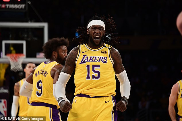 Montrezl Harrell on the court: The Los Angeles Lakers played the Phoenix Suns on Thursday night, in a game that counted as round 1, game 6 of the 2021 NBA playoffs