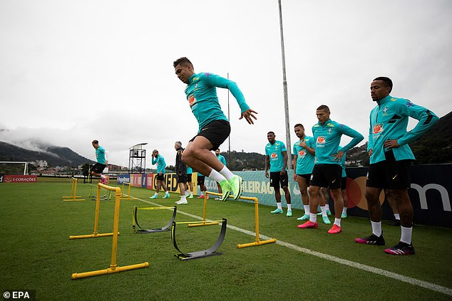 Brazil captain and midfielder Casemiro missed his scheduled press conference on Thursday