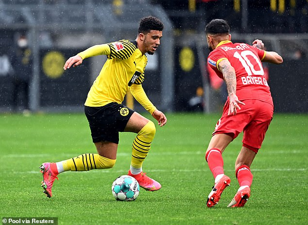 Man United will have to break the British transfer record to sign Jadon Sancho this summer