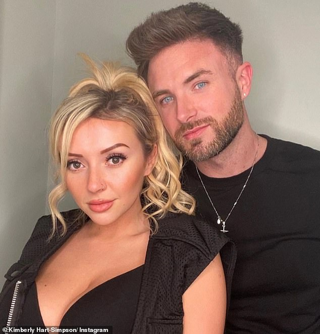 The ex:The star recently split from her Celebs Go Dating co-starShane Finlayson (pictured) after a six-month romance, and has now said she's open to sliding into people's DM's