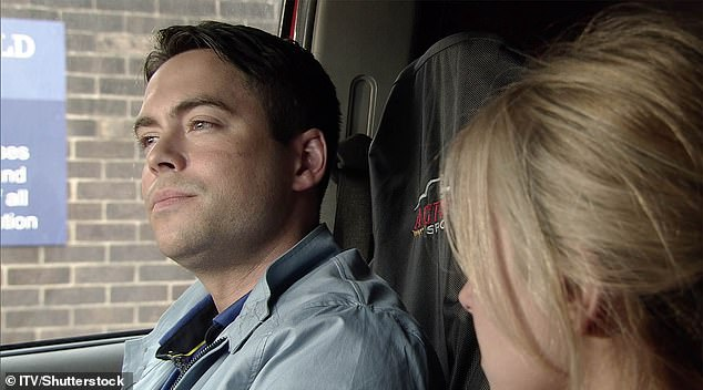 'I have no excuse': Bruno said he has been to see a councillor since grabbing four women on the same night out (pictured on Coronation Street in 2016)
