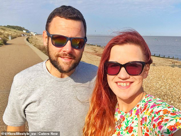 The couple, pictured together after their weight loss, started to cook 'fakeaway' dishes at home to replicate their favourite fast food meals