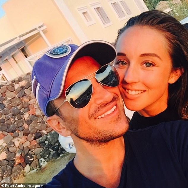 Moving on: Peter and Katie called time on their five-year marriage in 2009. He found love again with doctor Emily MacDonagh (pictured), tying the knot in 2015