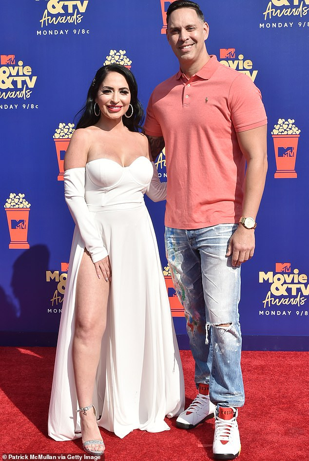 As seen in 2019:Jersey Shore star Angelina Pivarnick said on the latest episode of the show that her sex life with her husband is 'nonexistent at this point'