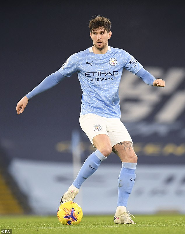 JohnStones enjoyed a renaissance having previously fallen out of favour with Pep Guardiola