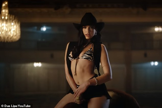 Work it!  It comes after the singer released a sizzling new music video for her track Love Again last week where she rides a mechanical bull.