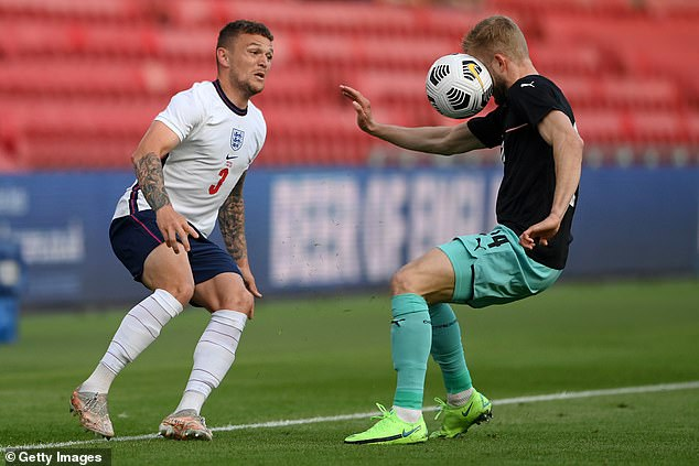 Kieran Trippier, now at Atletico Madrid, made 132 appearances for Burnley in the EFL