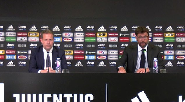 Andrea Agnelli paid tribute to Paratici for his achievements and described him as 'a winner'