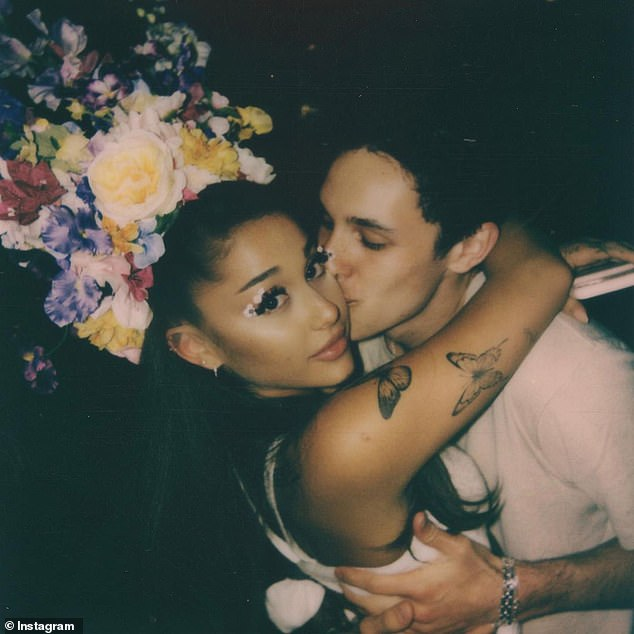 Mr. and Mrs.:In mid-May 2021, it was revealed that Ariana and Dalton, a luxury realtor, tied the knot at her Montecito home