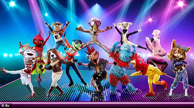 Concept:The Masked Dancer sees 12 celebrity contestants perform in extravagant costumes