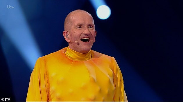 Revealed! Eddie The Eagle was unmasked as Rubber Chicken on Tuesday night's edition of The Masked Dancer and admitted he was 'gutted' to leave the ITV competition