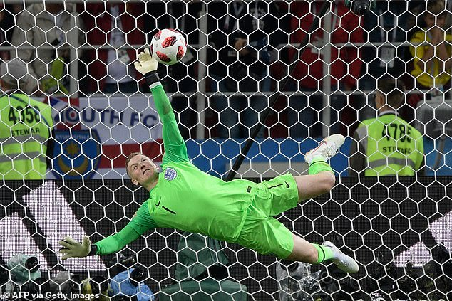 Pickford's penalty saving heroics against Colombia were a memorable part of the World Cup