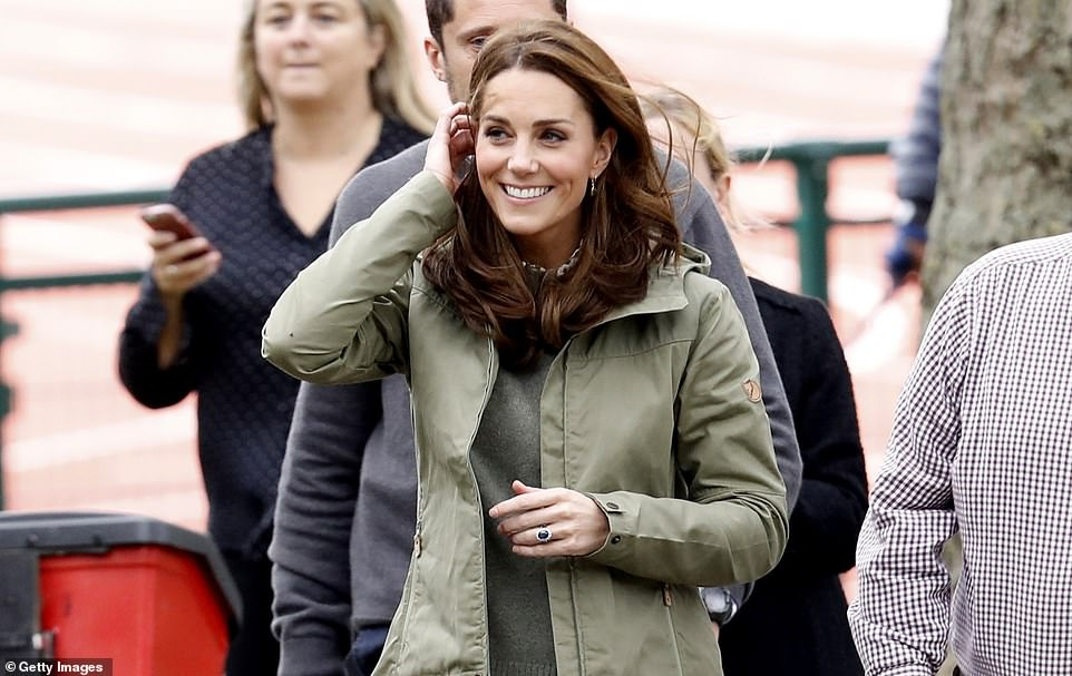 The Duchess of Cambridge's 2019 Chelsea Flower Show playground featured a swing rope, a tepee and a treehouse