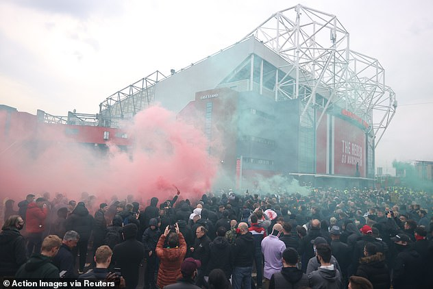 United fans are demanding the owners leave following the disastrous European Super League
