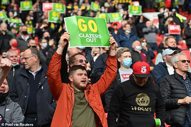 It followed supporter anger at attempts to sign United up to the European Super League