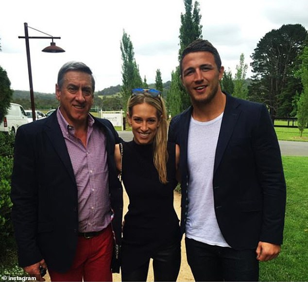 Cleared: He was recently cleared on appeal of intimidating his former father-in-law, Mitch Hooke (left). A conviction for intimidating Mr Hooke was overturned by a New South Wales District Court judge