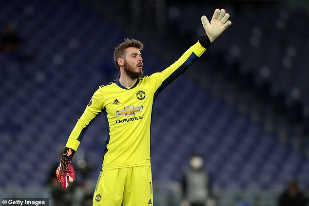 de Gea, whose own United future is uncertain, wishes Romero good luck in his new challenge
