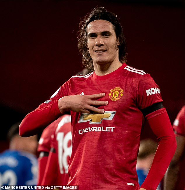 Solskjaer believes that Cavani will be able to perform even better for United next season