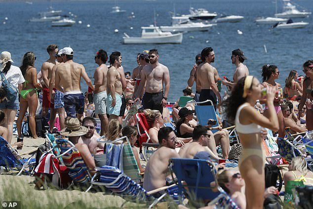 Boston, Massachusetts: Some people went out on their boats